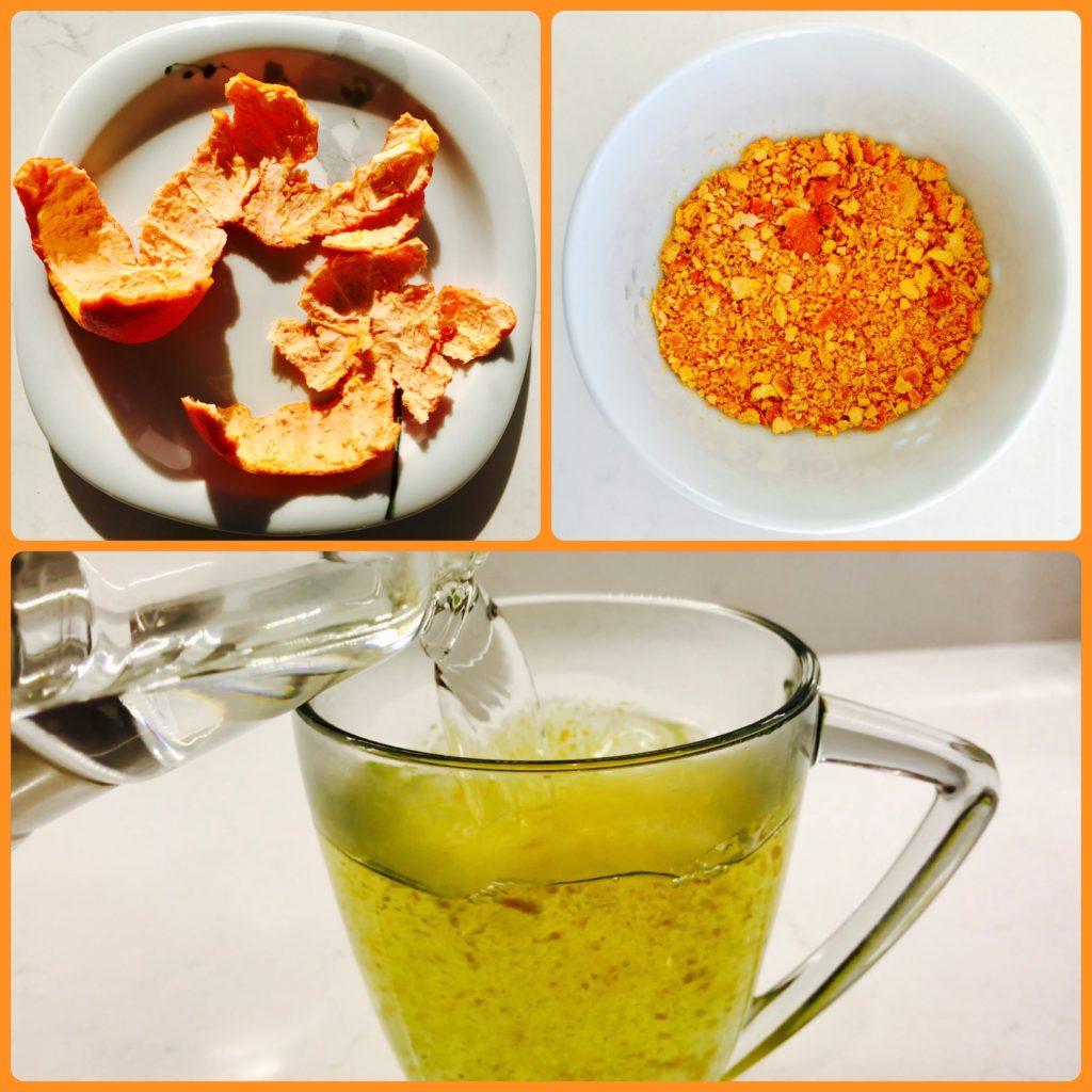 how to make tangerine peel tea