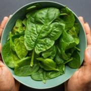 Oxalate Spinach Salad